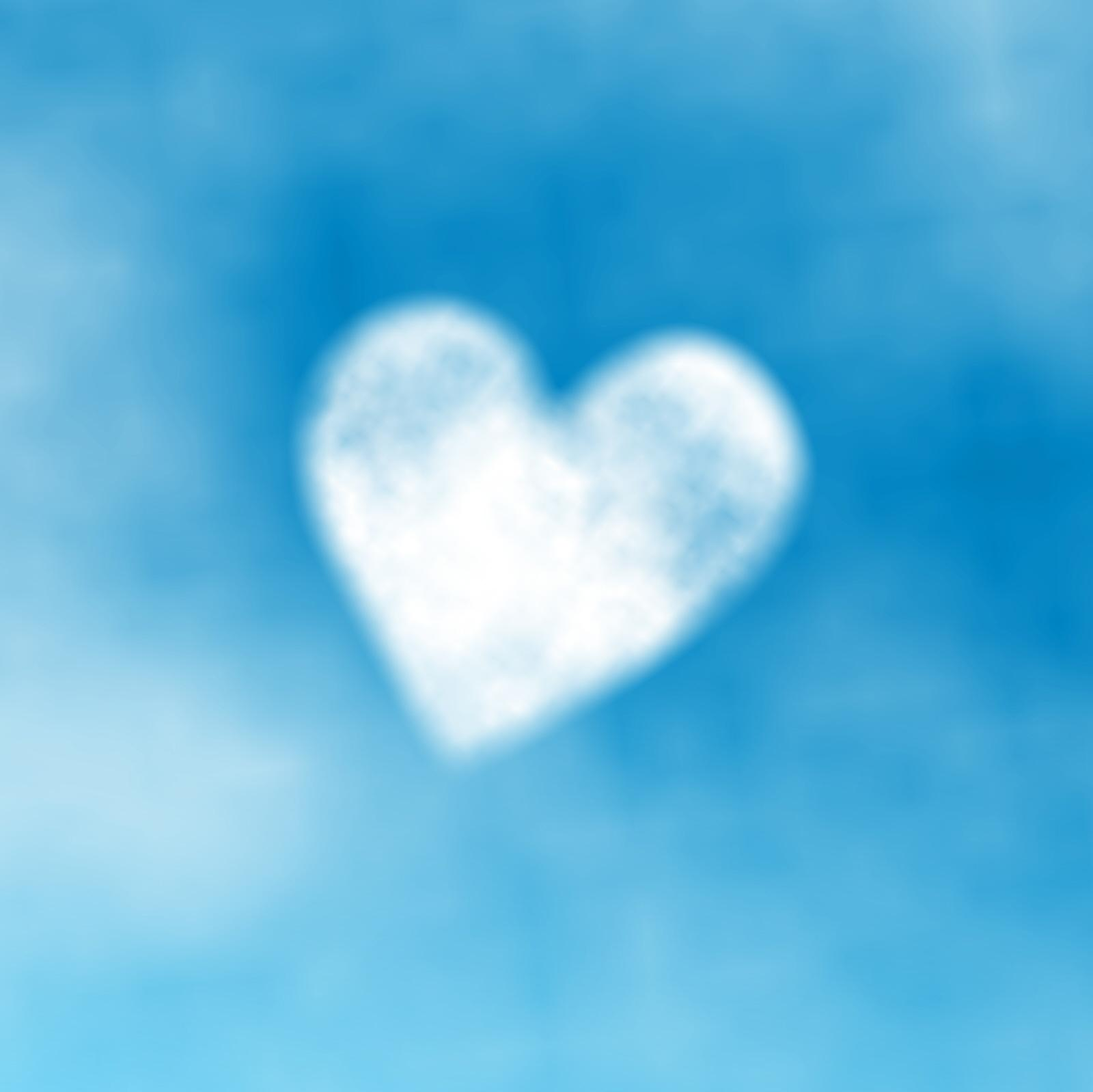 Que Tiempo Hace Heart Shaped Fluffy Cloud